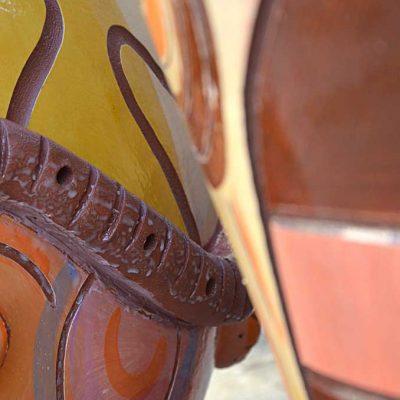 Céramiques monumentales de jardin, 2013, collection privée (France)