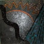 Vendredi 1er decembre 1995, technique mixte sur toile