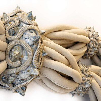 Détail : mercredi 22 janvier 2014, sculpture contentions