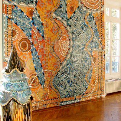 2004, acrylique sur toile, attrape, couleur