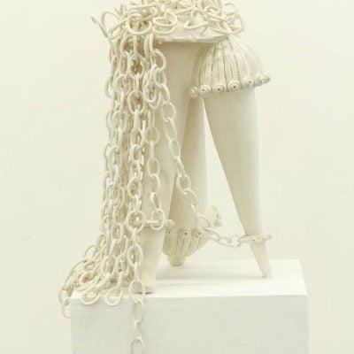 frédérique fleury, sculpture grès émail, jeudi 25 juin 2015
